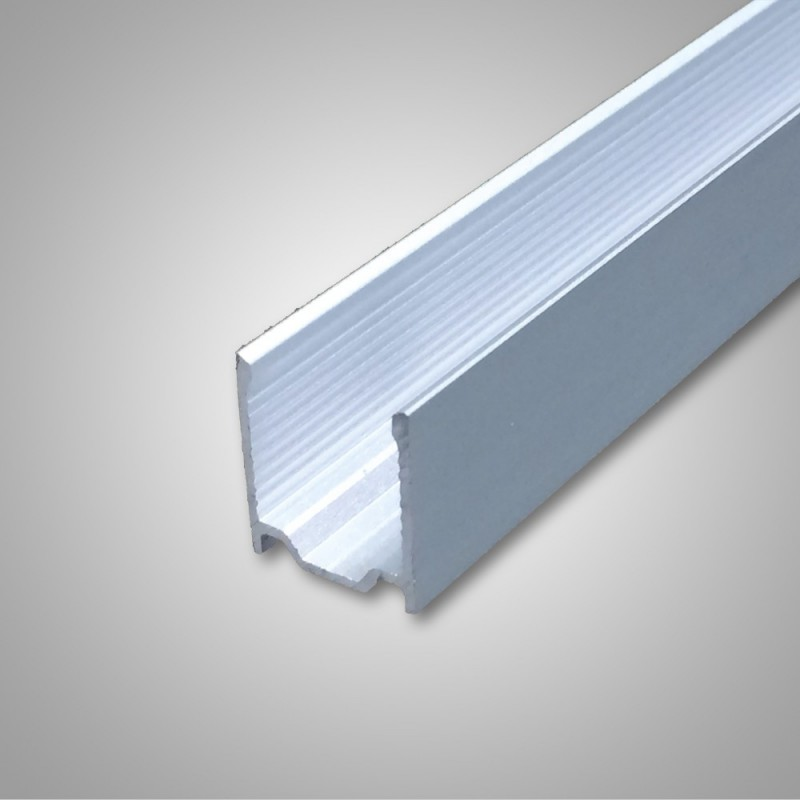 Flexshine® basic II rail aluminium 1000mm