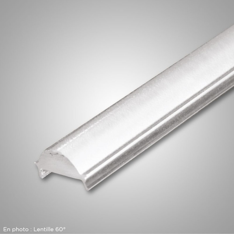 PK 17,5x7,0 lentille PMMA frosted 30° 2000mm