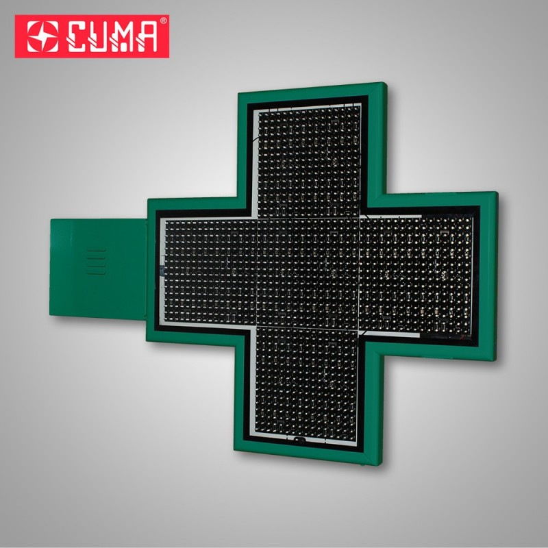 Crossmed croix A27 DF 900x60mm verte 3D android RAL6005