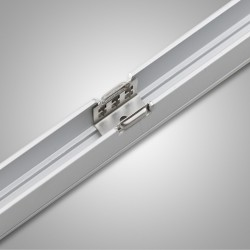 Flexshine Type S D12 profil aluminum 1000mm 5 clips